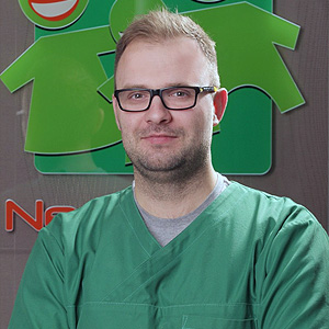 Adrian Kiepuszewski – lekarz stomatolog